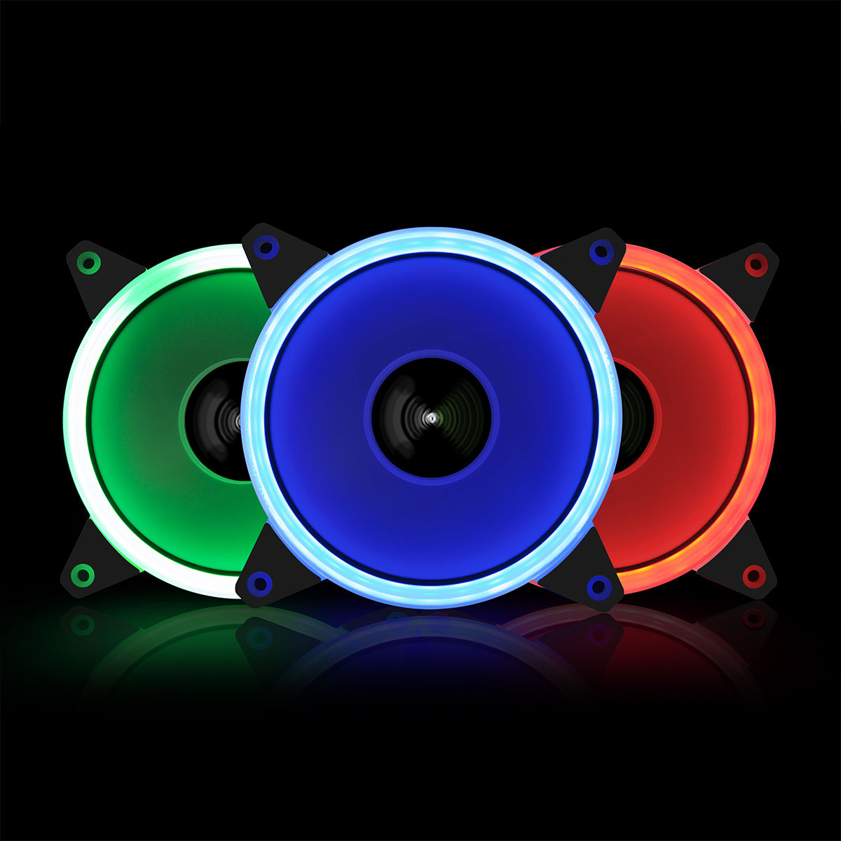 LED RING SILENT FAN